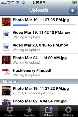 Dropbox для iOS