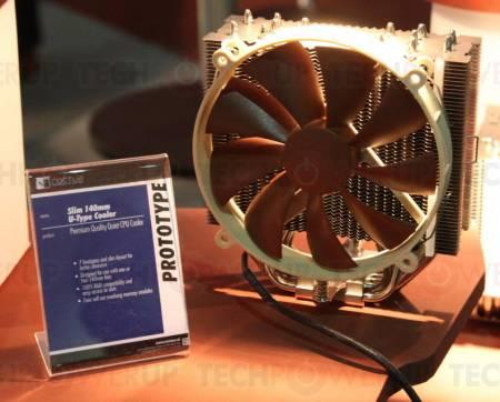 Прототипы процессорных кулеров Noctua