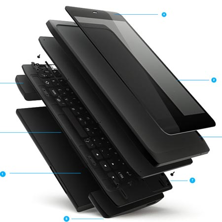 Смартфон Nokia N950 с ОС MeeGo