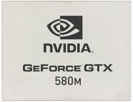 Графический процессор GeForce GTX 580M