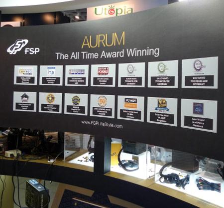 Computex 2011: блоки питания FSP AURUM