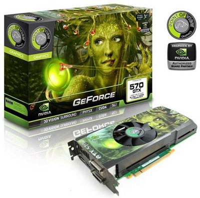 Point of View оснастила GeForce GTX 570 2,5 ГБ памяти
