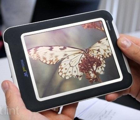 Выпуск электронной книги с экраном mirasol официально отменен
