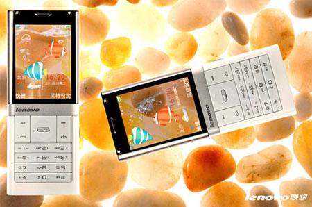 Lenovo S800 с полупрозрачным дисплеем