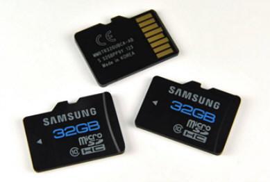 � Samsung ������ ����� ������ microSDHC Class 10 ������� 32 ��
