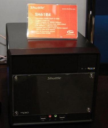 Наборы для сборки мини-ПК Shuttle серии R4 были замечены на Computex 2011