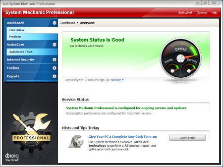 ��������� System Mechanic Pro
