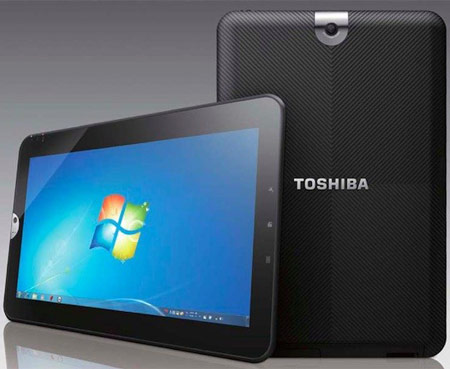 Toshiba анонсировала планшет WT310/C на платформе Oak Trail с ОС Windows 7