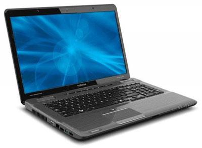 Новые ноутбуки Toshiba P-series комплектуются как процессорами Intel, так и APU AMD A6-3400M