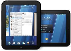 Объем первой партии планшетов HP под управлением webOS — до 450 тыс. штук