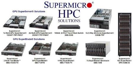 Supermicro демонстрирует на ISC 2011 суперкомпьютерные решения