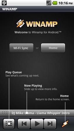 Winamp ��� Android