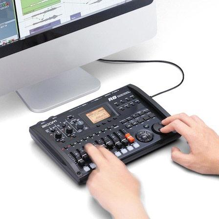 Zoom R8 — восьмидорожечная мобильная студия звукозаписи