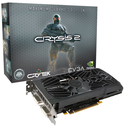 EVGA GeForce GTX 560 Ti Maximum Graphics Edition