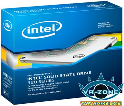 Изображение упаковки Intel SSD 320 Series