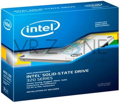 Стоимость твердотельных накопителей Intel 320 Series будет простираться от $109 до $1119