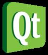 Логотип Qt