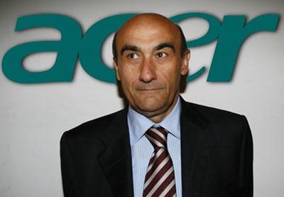 Джанфранко Лянчи возглавлял Acer c 2008 года