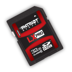 ����� ������ Patriot Memory LX Pro SDHC Class 10