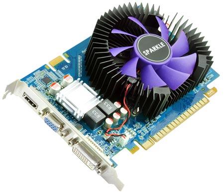 Sparkle предлагает 3D-карту GeForce GTS 450 с 2 ГБ памяти
