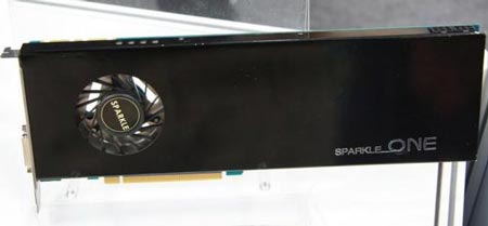 ������, �� ������� 3D-����� Sparkle GeForce GTX 570
