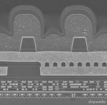 Рентгеновский снимок Apple A5
