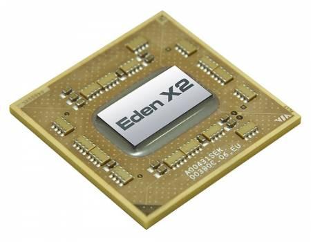 Двухъядерный процессор Eden X2
