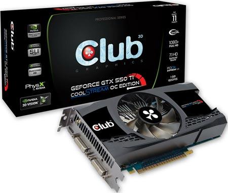 3D-карта Club 3D CGNX-XT55024O