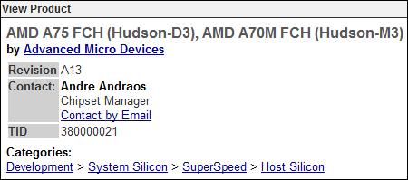 Чипсеты AMD с поддержкой USB 3.0 прошли сертификацию USB-IF