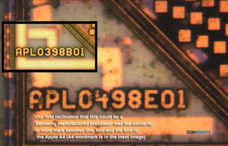 Текстовая метка на процессоре A5