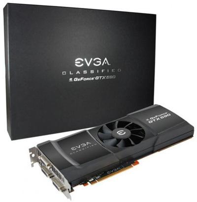 EVGA GeForce GTX 590 Classified Hydro Copper