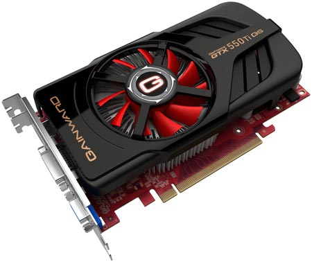 Gainward GTX 550 Ti 1024MB Golden Sample