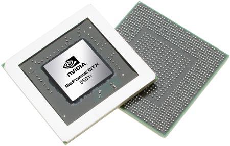 GPU NVIDIA GeForce GTX 550 Ti