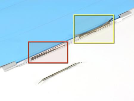 расположение магнитов внутри iPad 2 и Smart Cover с чередованием полярностей