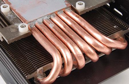 В ускорителе используются шесть тепловых трубок