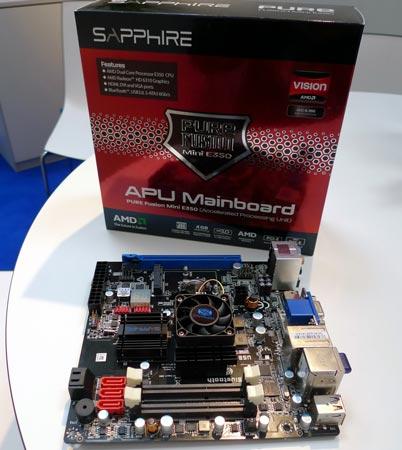 Системная плата Sapphire E350
