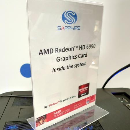3D-����� Radeon HD 6990 �������� � ������������ ��