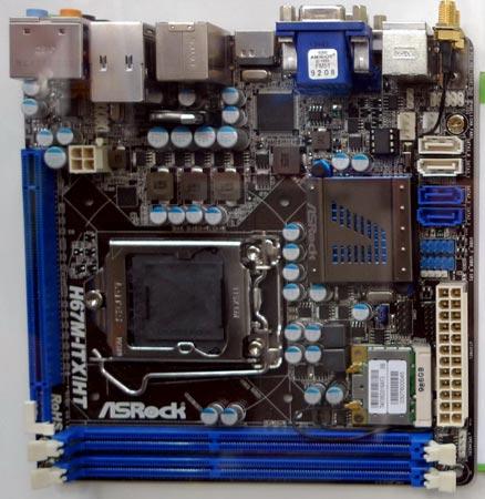 Модель H67M-ITX/HT