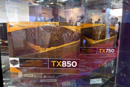 Продукция Corsair на выставке CeBIT