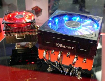Процессорные охладители Enermax на CeBIT 2011