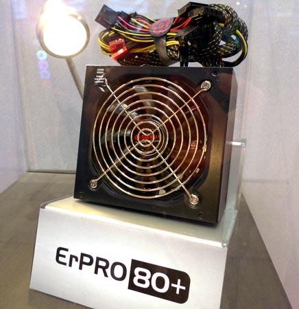 Серия ErPRO 80+ включает блоки мощностью 350, 400 и 500 Вт