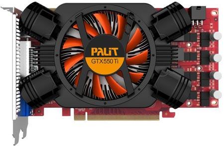 Palit GTX 550 Ti 1GB Sonic
