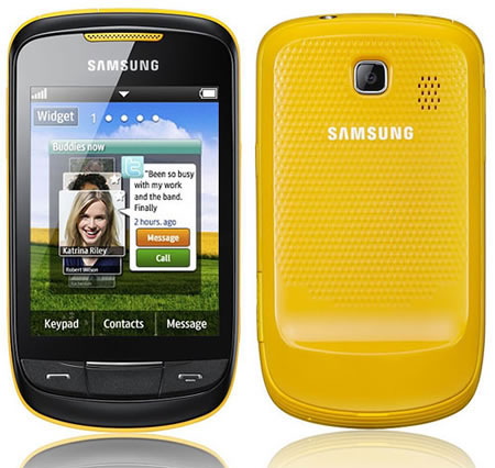 Samsung Corby II (GT-S3850)