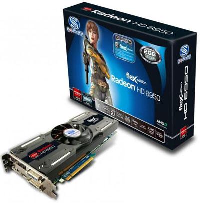 Sapphire Radeon HD 6950 FleX Edition