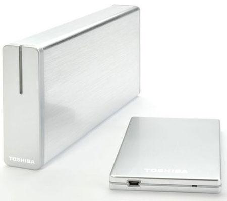 Toshiba STOR.E STEEL S и STOR.E ALU 2S могут быть как «тонкими», так и «толстыми»