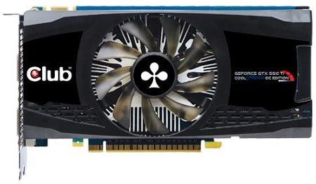 Club 3D GeForce GTX 550 Ti CoolStream OC Edition