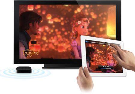 Трансляция AirPlay с iPad 2
