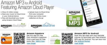 Amazon Cloud Player для Android