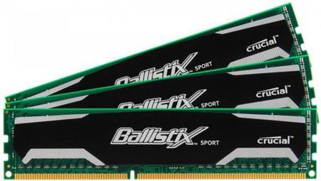 Набор из трех модулей памяти Crucial Ballistix Sport