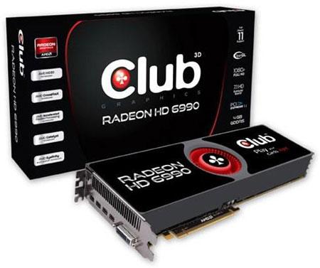 AMD Radeon HD 6990, ������� Club 3D